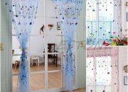 Rèm cửa phòng ngủ ở Hạ Long bằng vải mỏng cho bé