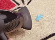 Nhiệt độ cao giúp tẩy kẹo cao su trên chăn ga gối đệm