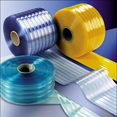 Rèm cửa phòng lạnh là các dải nhựa PVC siêu bền