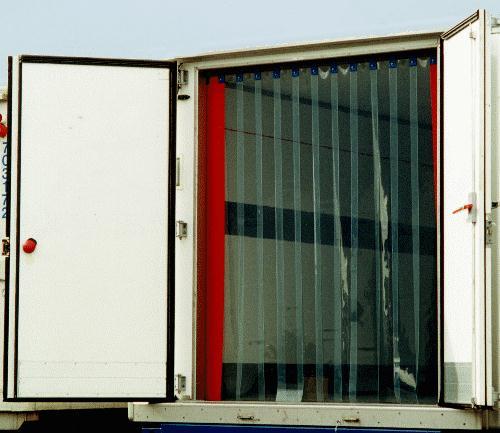 Rèm cửa phòng lạnh thiết kế cho xe tải
